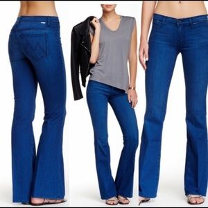 MOTHER Jeans | The Curfew Flare Stretch Jeans 27